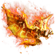 MHXR-Flame Rathalos Render 001