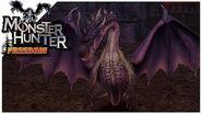 Monster Hunter Freedom - Fatalis Boss Fight 25
