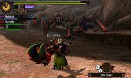 MH4U-Tigrex and Brute Tigrex Screenshot 001