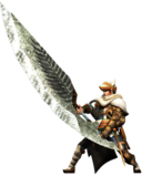 MHGen-Great Sword Equipment Render 002