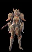 MHR Jyura Armor Woman