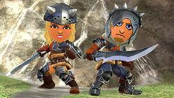 SSB4-Hunter's Armor Screenshot 001.jpg