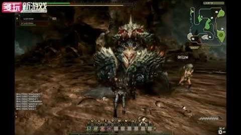 怪物猎人Online(Monster_Hunter_Online)_Preview_of_CBT2_Baelidae_Battle