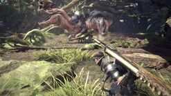 MHW-Anjanath and Jagras Screenshot 001