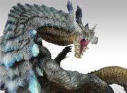 Capcom Figure Builder Creator's Model Ivory Lagiacrus 005