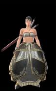 MHR Chrome Armor Woman