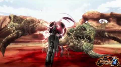 【MHF-ZZ】オリジナル新武器種『マグネットスパイク』紹介動画⑧ ~「磁縛(じばく)」編~