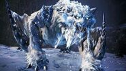 Frostfang Barioth Hunt (Solo Hammer) - Monster Hunter World Iceborne