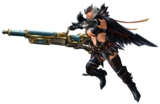 FrontierGen-Light Bowgun Equipment Render 004