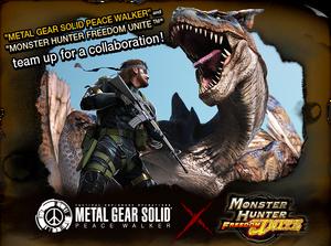 Logo-Metal Gear Solid Peace Walker x MHFU