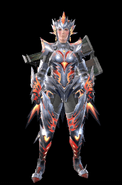 MHR Valstrax Armor Woman