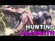 Monster Hunter World Gameplay- Hunting an Anjanath