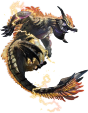 MHRise-Thunder Serpent Narwa Render 001