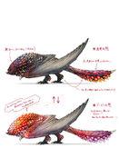 MHWI-Seething Bazelgeuse Concept Art 001