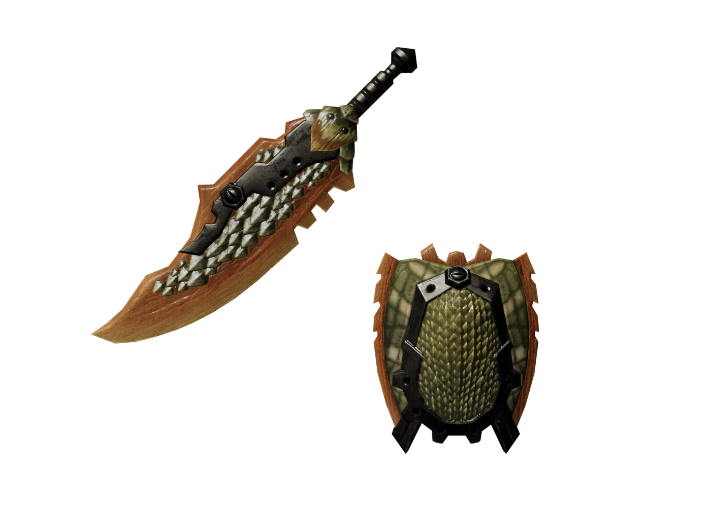 Abiorugu Sword and Shield I (MHO)