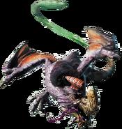Purple Gypceros MH4 Render