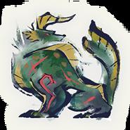 MHRise-Apex Zinogre Icon