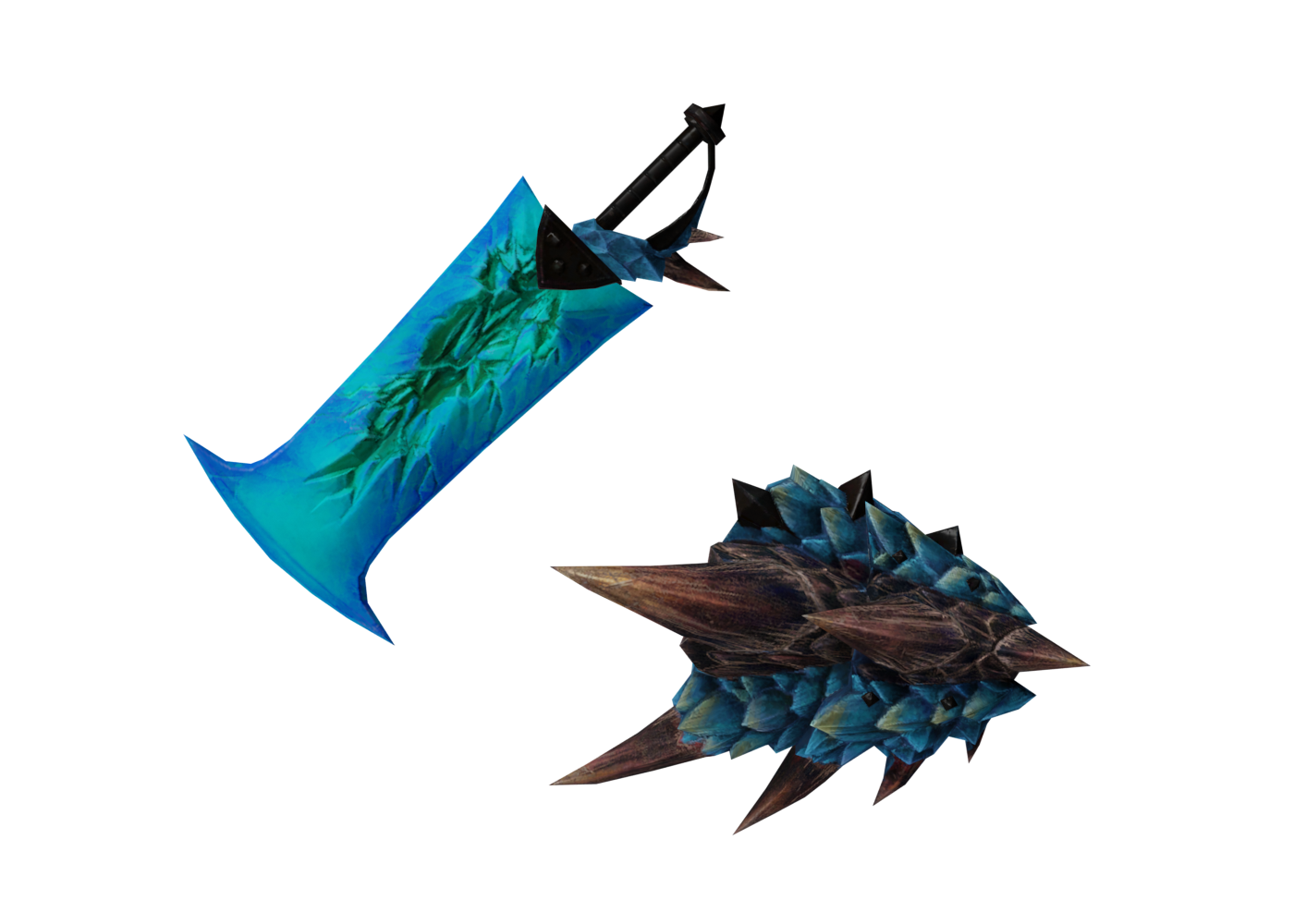 A. Rathalos Sword and Shield I (MHO)
