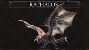 MHW-Rathalos Wallpaper 001