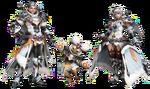 FrontierGen-Evoru Armor (Both) Render 2