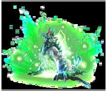 MHXR-Render Zinogre Inmortal
