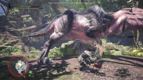 CuBaN VeRcEttI/Capcom publica un vídeo sobre la jugabilidad de Monster Hunter World