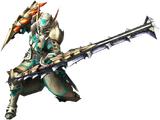 MH3U: Armas