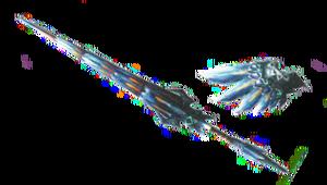 MH3U-Render Lanza Nargacuga Lunar.png