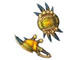 Garra Ludroth real (MH3U)