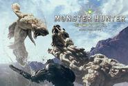 MHW-Artwork Barroth vs Jyuratodus