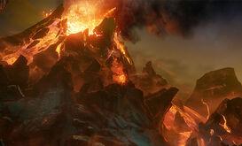 Volcán Endemoniado
