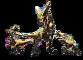 MH4-Render Gendrome con Genprey