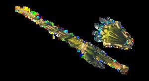 MH3U-Render Lanza Ludroth 3.png