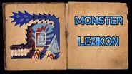 Monster Hunter World Iceborne - Monster Lexikon - Vulkan-Odogaron