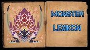 Monster Hunter World Iceborne - Monster Lexikon - Brodelnder Bazelgeuse