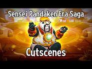 Sensei Pandaken Era Saga Cutscenes - Monster Legends