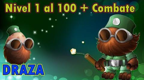 Monster Legends - Draza (Nivel 1 al 100) Combate