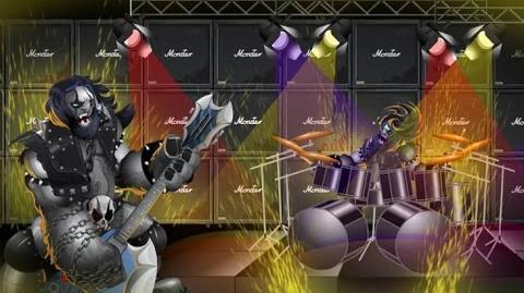 Monster Legends - Metalhead (Nivel 1 al 100) Combate