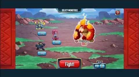 Monster Legends Adventure Map 6-10 Enfrentándonos al primer jefe
