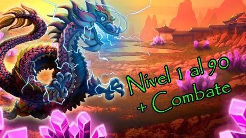 Monster Legends - Ao Loong (Nivel 1 al 90) Combate