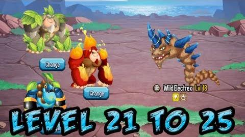 Monster Legends - Adventure Map - Level 21 to 25