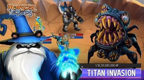 Monster Legends Breaking NEWS The Titan Invasion-0