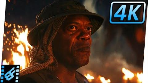 Kong Smashes Packard Kong Skull Island (2017) Movie Clip 4K