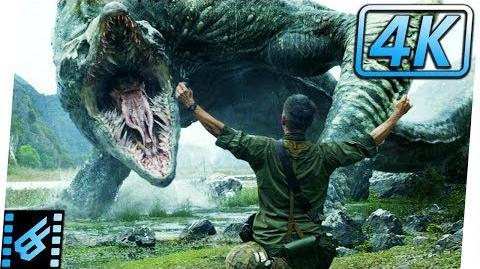 Cole Sacrifices Himself Kong Skull Island (2017) Movie Clip 4K