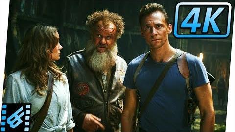 Marlow Talks About Kong & Skullcrawlers Kong Skull Island (2017) Movie Clip 4K