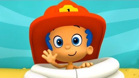 Bubble Guppies Gil & Molly Firefighters and dragon Episode of the game Nick Jr
