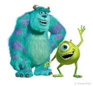 Mike Wazowski and Sulley 002