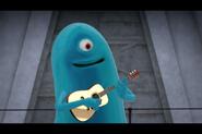B.O.B playing Guitar