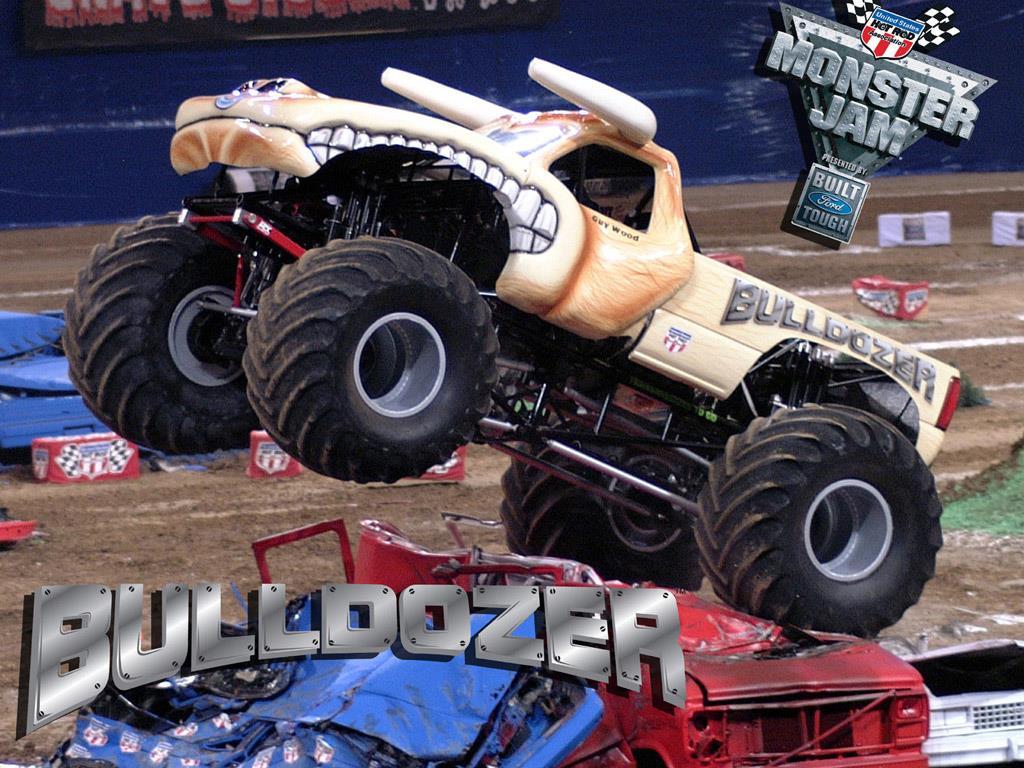 Bulldozer Wood Monster Trucks Wiki Fandom