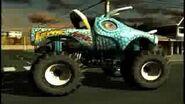Monster Jam Urban Assault Video Game Monster Truck Jurassic Attack